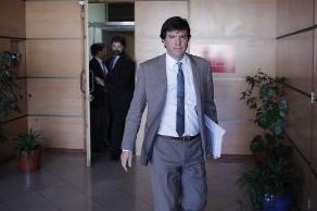 El ministro de Transportes Andrés Gómez-Lobo