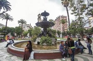 remodelación plaza en Valparaíso
