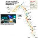accesos salidad autopista vespucio oriente avo