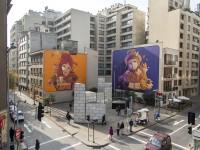 Ekekos de INTI en Bellas Artes © Andrea Manuschevich para Plataforma Urbana.