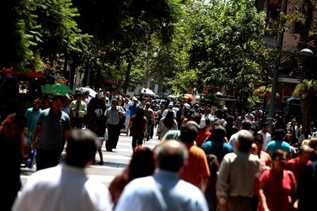16  Febrero 2012 El paseo Ahumada cumple 35 a?os desde su inauguraci?n Foto: Domingo Burgos / La Tercera