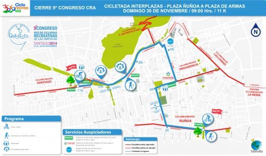 Mapa-Cicletada