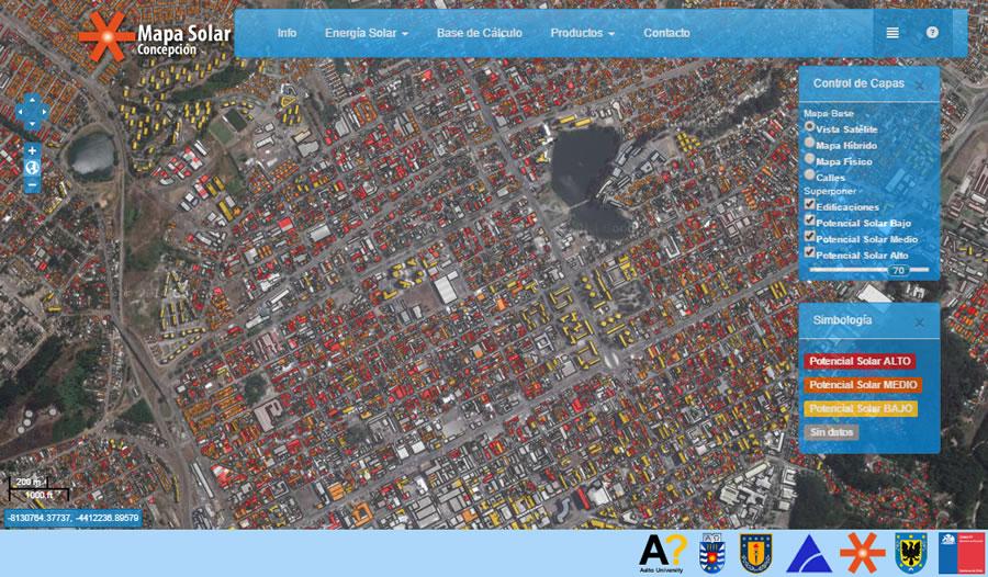 Mapa Sola de Concepción