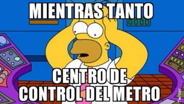 Memes Falla Metro de Santiago 12