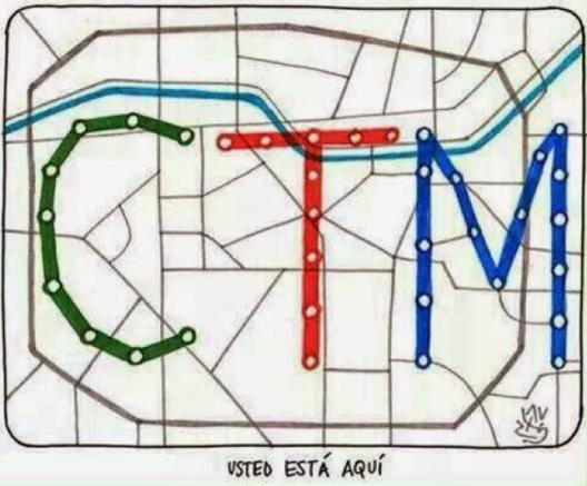 Memes Falla Metro de Santiago 13