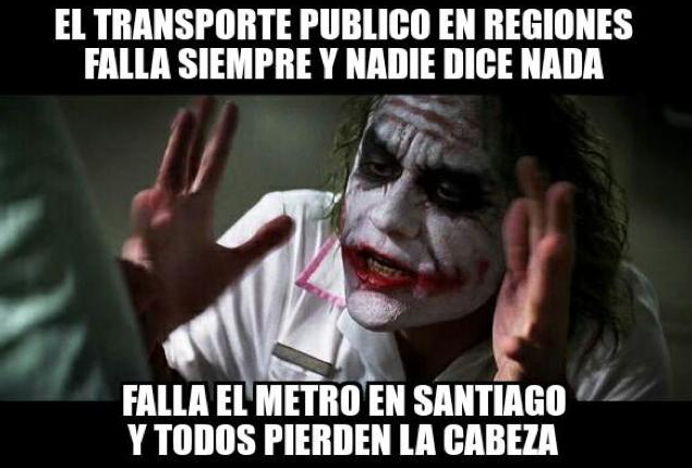 Memes Falla Metro de Santiago 5
