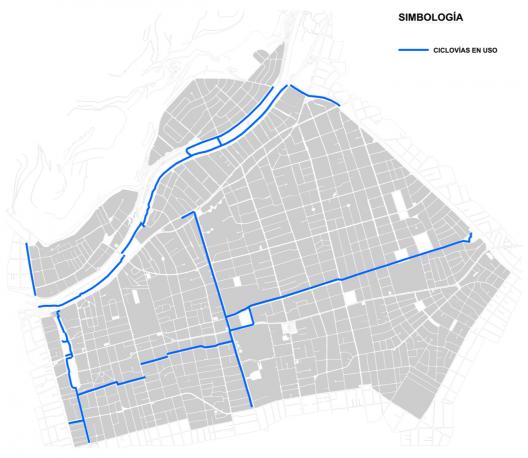Plan de Movilidad Sustentable de Providencia. Ciclovías en uso. Cortesía Municipalidad de Providencia.
