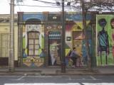 Murales en Barrio Bellavista 1 © Andrea Manuschevich para Plataforma Urbana