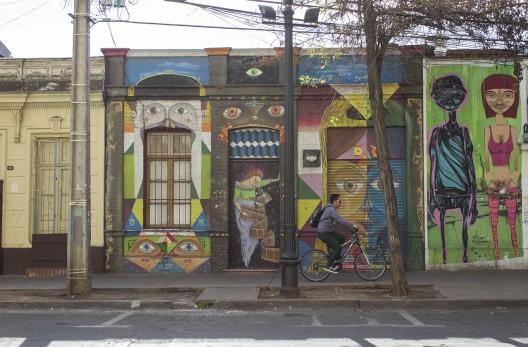 Murales en Barrio Bellavista © Andrea Manuschevich para Plataforma Urbana