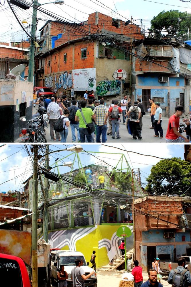 Petare, Caracas: antes y después. Image Cortesia de PICO Estudio