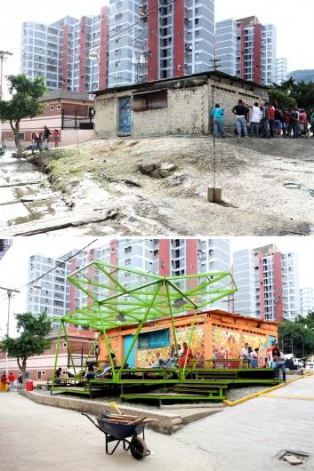 Pinto Salinas, Caracas: antes y después. Image Cortesia de PICO Estudio