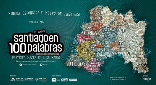 aficheStgo100palabras