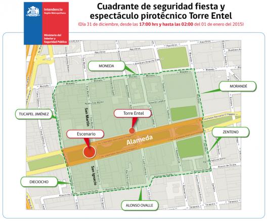 Fuente: Intendencia Metropolitana.