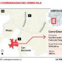ubicacion cerro chena san bernardo