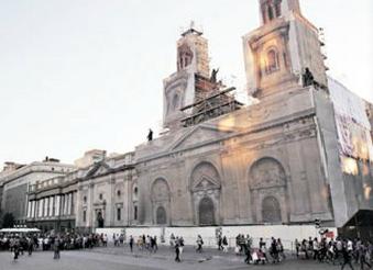 catedral de santiago pique metro de santiago linea 3