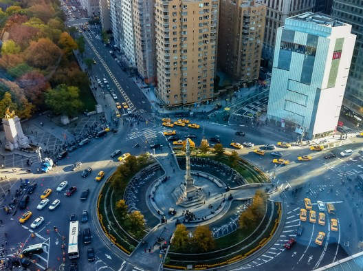 Columbus Circle, Nueva York. © ravalli1, vía Flickr.