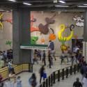 Declaracion de amor Samy Benmayor Mural Estacion Baquedano Andrea Manuschevich para Plataforma Urbana 2