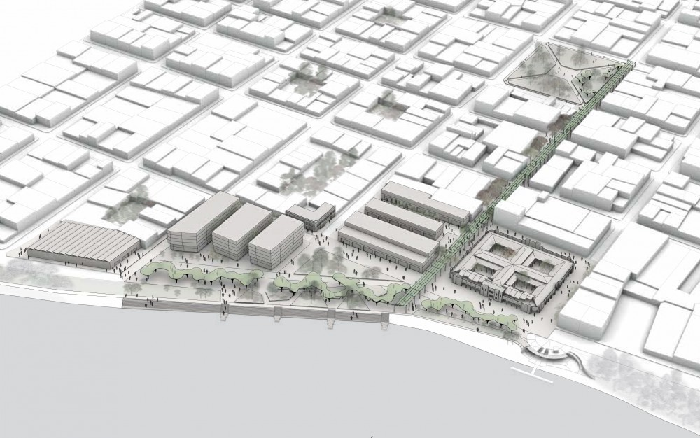 Plan Maestro del Espacio Público Sectorial del Mercado Central y su entorno. Equipo 'Taller Urbano Bogotá-Viena', 2014.