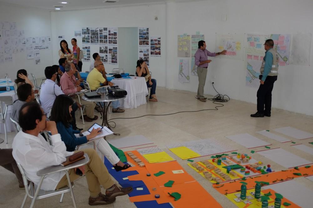 El Laboratorio de Diseño Urbano en Montería, Equipo 'Taller Urbano Bogotá-Viena', 2014.