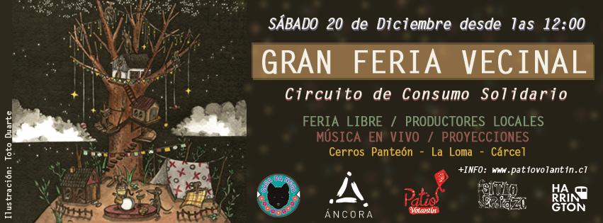 Gran Feria Vecinal, circuito de consumo solidario.