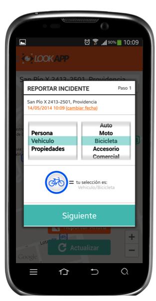 LookApp_Report_Tipo
