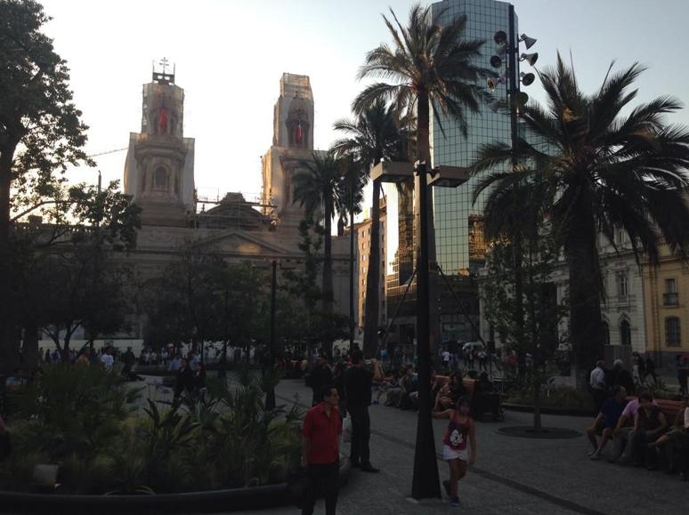 mejoramiento plaza de armas de santiago dem santiago via twitter 3