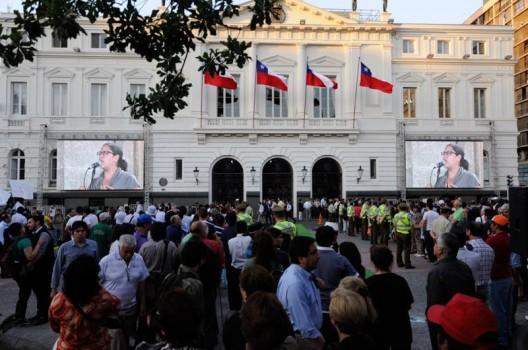© Municipalidad de Santiago (vía Facebook).