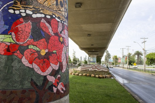 Arte y Ciudad: Mural Mosaico en Puente Alto, el más grande de Latinoamérica