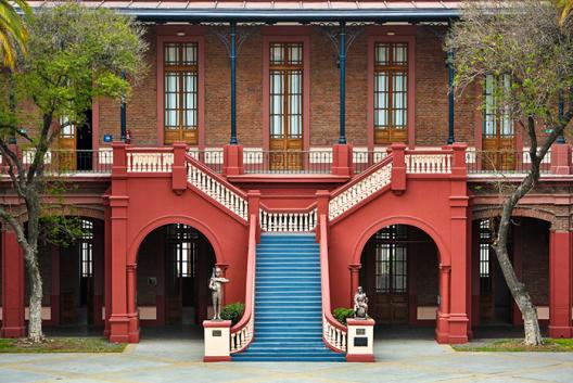 Museo histórico y Militar de Chile. Fuente: Patrimonio de la Defensa.