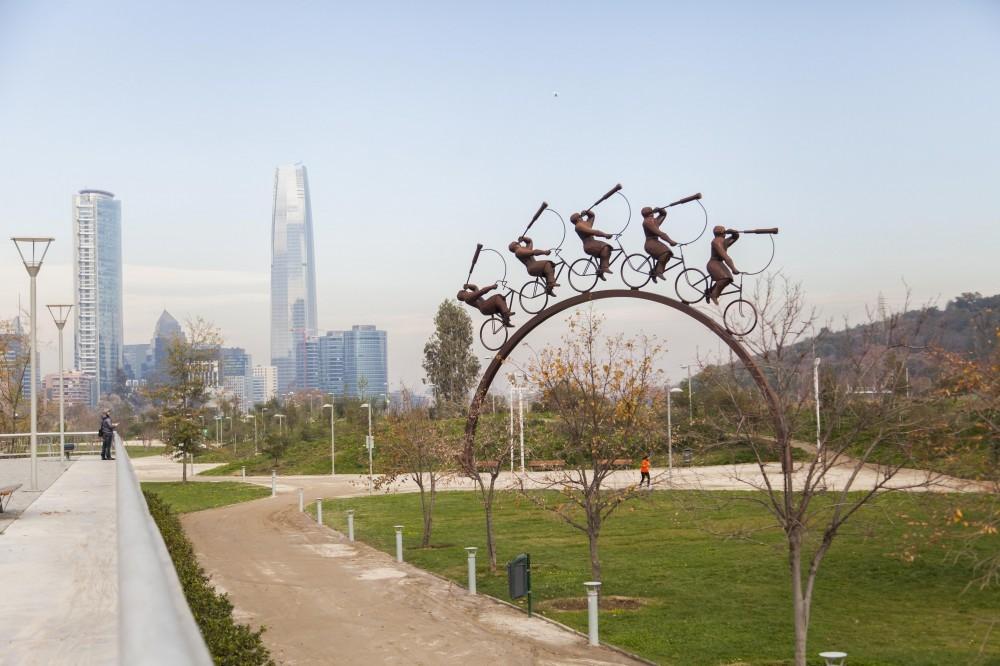 Parque Bicentenario de Vitacura © Andrea Manuschevich para Plataforma Urbana