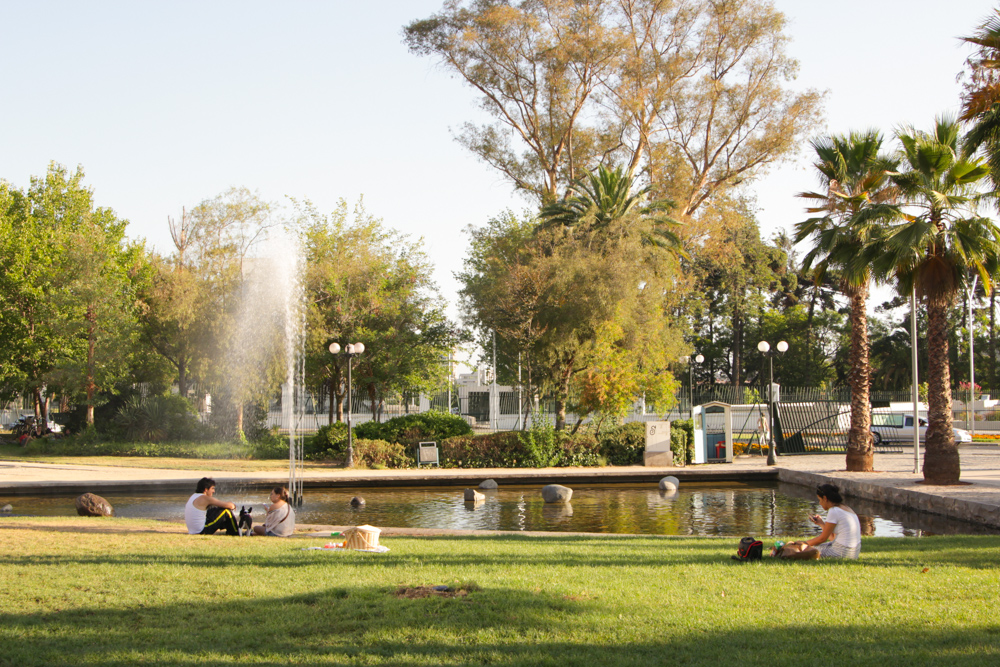 Parque Inés de Suárez de Providencia. © Plataforma Urbana