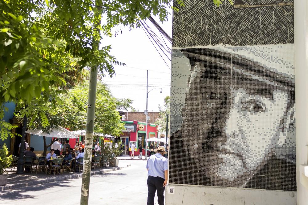 Pixel Art Neruda Constitucion Barrio Bellavista Andrea Manuschevich para Plataforma Urbana