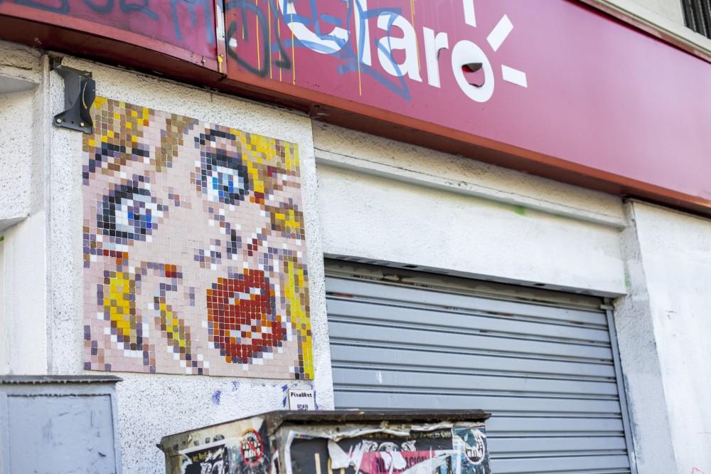 Pixel Art Pop Art Andrea Manuschevich para Plataforma Urbana