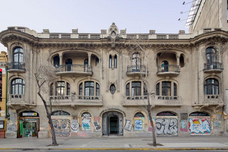 Sede Nacional del Colegio de Arquitectos de Chile. Fuente: Colegio de Arquitectos de Chile