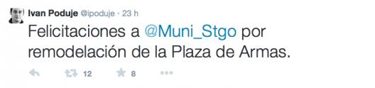 tweet ivan poduje plaza de armas
