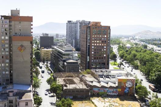 """""""Volantín Pillao"""" de Colectivo Cenit y Ekeko. © Andrea Manuschevich para Plataforma Urbana."""