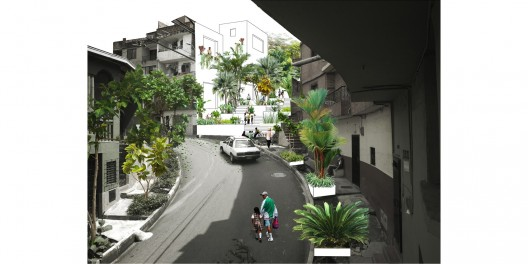 Barrio El Salvador. Image Cortesia de Equipo Primer Lugar