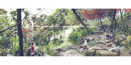 Parque. Image Cortesia de Equipo Primer Lugar