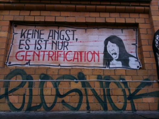 """""""No te preocupes, es sólo gentrificación"""". Image © Sebastian Thiele [Flickr]"""