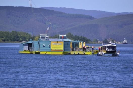 © Transporte Fluvial Sustentable. (J. Alun)