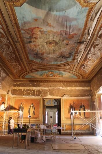 Capilla Sede Arzobispal © Fundación Patrimonio Cultural
