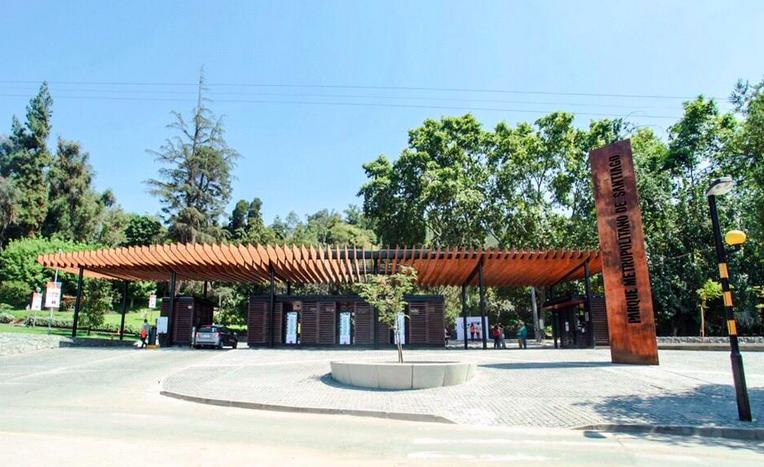 acceso pedro de valdivia norte parque metropolitano