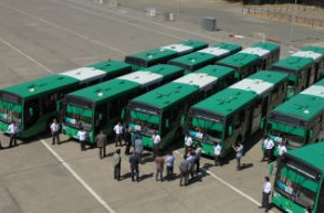 nueva flota buses transantiago