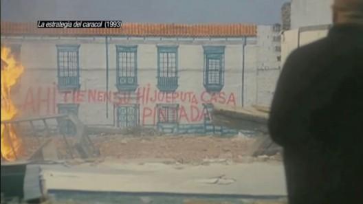 """""""La estrategia del Caracol"""" (1993). Image Cortesia de Cortometraje 'Ficción Inmobiliaria'"""