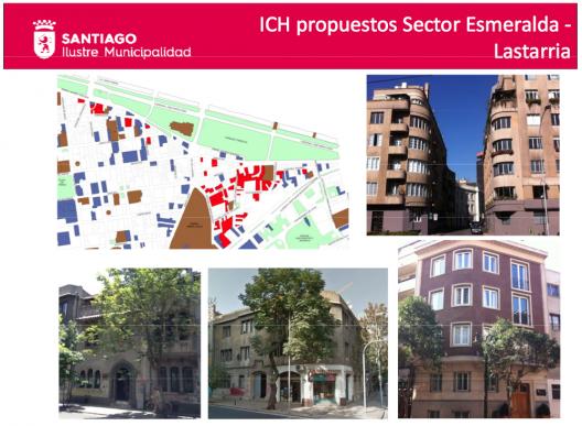 Modificación Complementaria al Plan Regulador Comunal de Santiago.