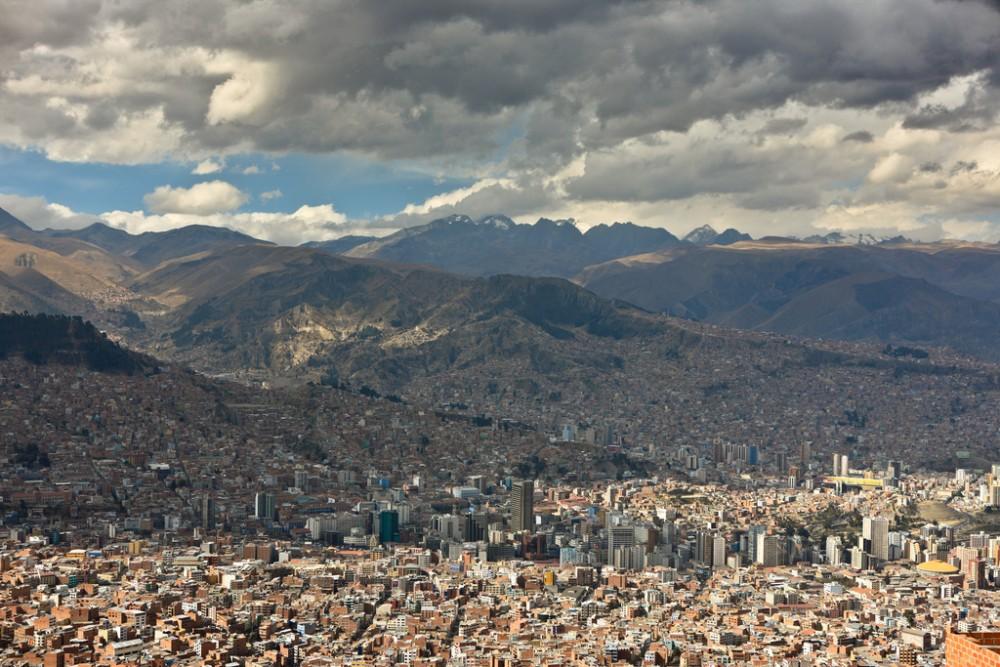 La Paz, Bolivia. © cliff.hellis, vía Flickr.