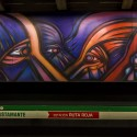 Mural Vida y Trabajo Metro Parque Bustamante Alejandro Mono Gonzalez Andrea Manuschevich para Plataforma Urbana 2