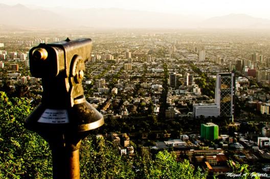 Desde el Parque Metropolitano de Santiago. © Miguel A. Gallardo, vía Flickr.