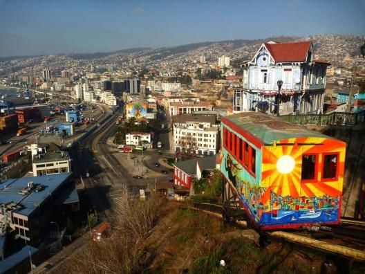 Ascensor Artillería, Valparaíso. © benontherun.com vía Flickr.