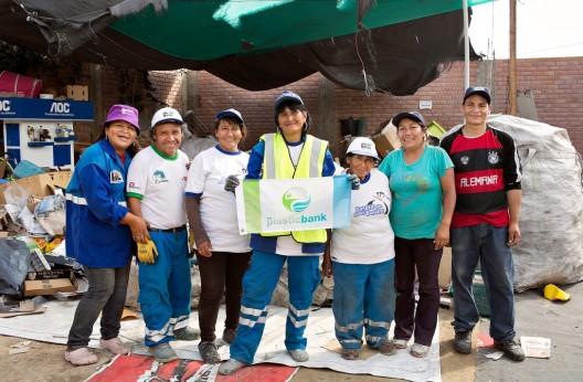 Centro de reciclaje en Lima, Perú. © Banco de Plástico (vía Facebook).